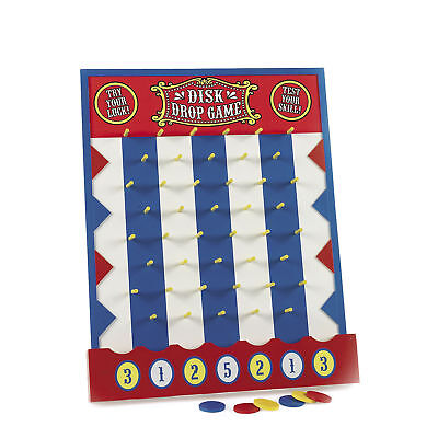PLINKO STYLE GAME circus big top DISK DROP CARNIVAL GAME Wood birthday party  ](Drop Game)