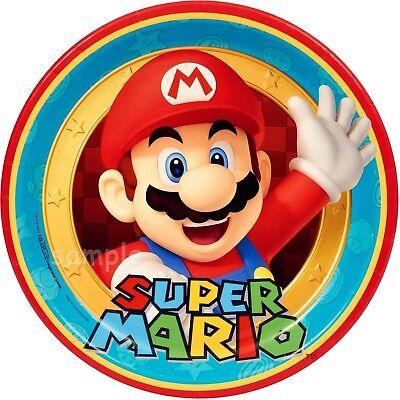 Super Mario Brothers Eßbar Tortenaufleger Geburtstag Party Deko Spiel wii switch (Super Mario Brothers Geburtstag)
