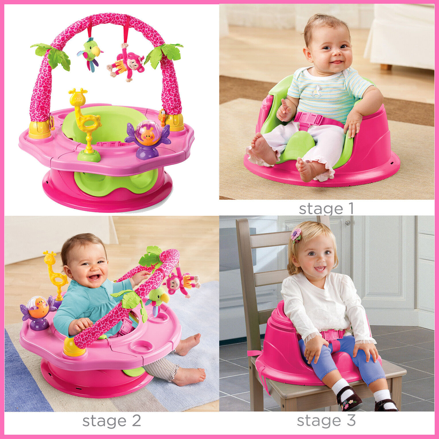 Summer Infant Deluxe SuperSeat Island Giggles, Booster seat