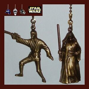 STAR-WARS-DIE-CAST-METAL-FAN-PULLS-DARTH-VADER-OBI-WAN-KENOBI-LUKE-SKYWALKER