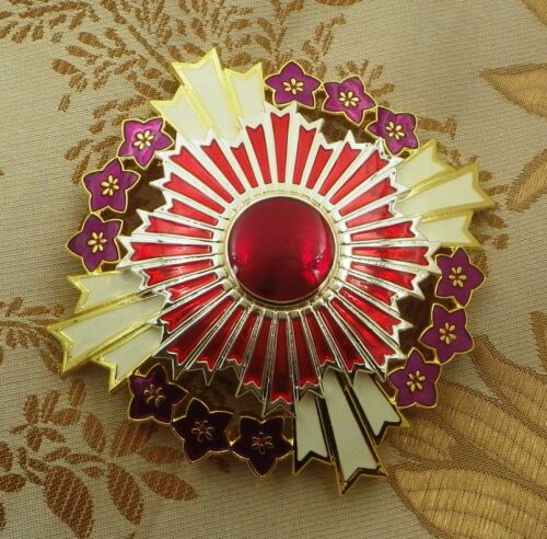 JAPANESE ORDER OF THE PAULOWNIA FLOWER BREAST STAR
