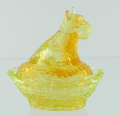 Boyd Glass Scottie Salt Orange Glo