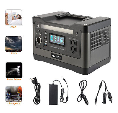 Kyng Power Solar Generator 540wh 1000w Peak Portable Power Station Brand New 1