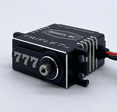 REEF's RC TRIPLE 7 High Torque High Speed 14V Brushless Programmable Servo 777 High Torque Rc Servo