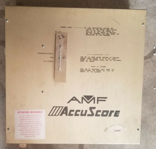 AMF Accuscore Plus 7500 CWC
