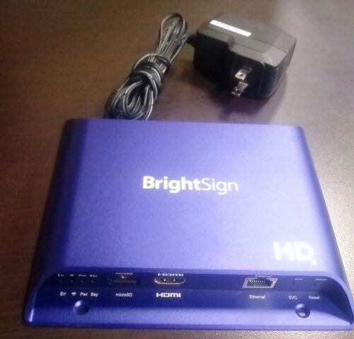 BrightSign HD223 Digital Networked Media Player signage Controller