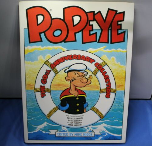 RARE POPEYE THE 60th ANNIVERSARY COLLECTION HARDCOVER BOOK BY HAWK BOOKS~ JS-T1