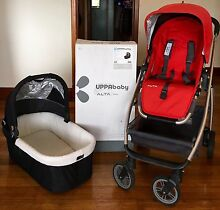 UPPABABY ALTA PRAM & BASSINET 2014 with accessories. WASHED & CLEANED West Hobart Hobart City Preview