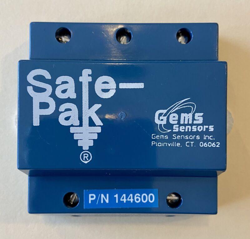 Gems Sensors 144600 Intrinsically Safe Low Sensitivity Safe-Pak 105-125 VAC