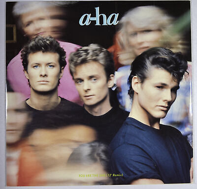 """A-HA - You Are The One (12"""" Remix)  Vinyl UK Near Mint New Wave Synth-pop"""