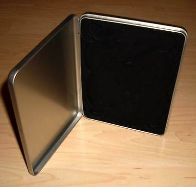 DVD Hülle Case Cases 2fach 2er aus Metal Steelbook Metalcase für 2 DVDs Neu