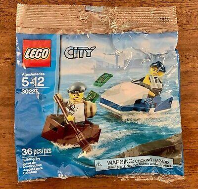 LEGO Police Watercraft Polybag #30227 City - Stocking Favor NEW