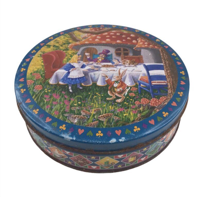 Vintage Alice In Wonderland Tin