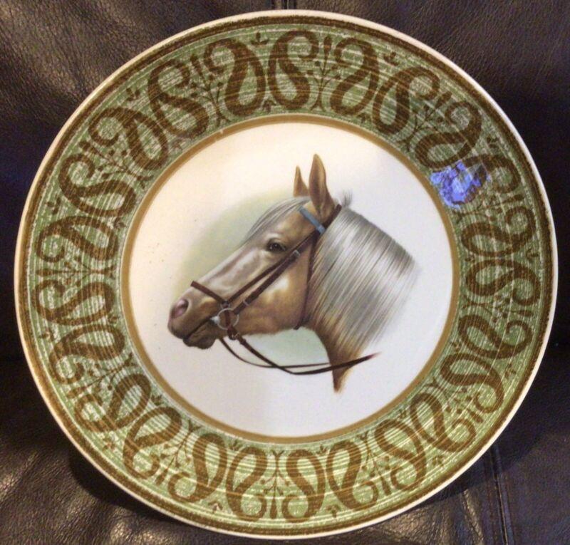 Palomino Horse Decorative Plate