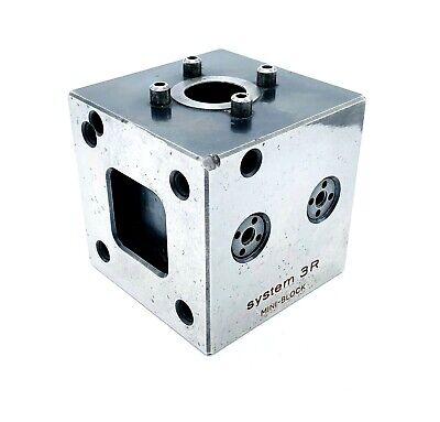 System 3r Mini-block Model 3r-321.46 Edm Tooling Cube 2.75 70mm
