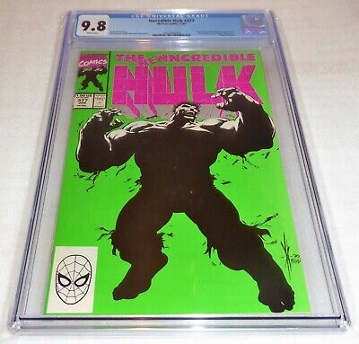 Incredible Hulk #377 CGC Universal Grade Comic 9.8 Doc Samson Prof. Professor