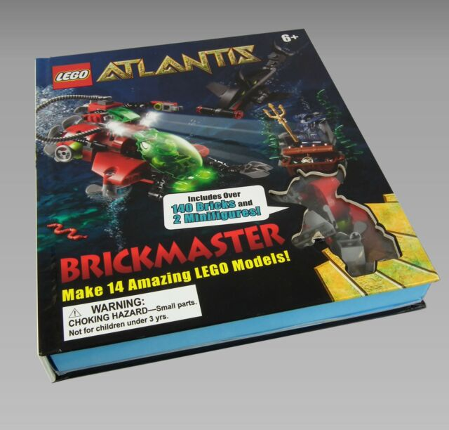 LEGO Atlantis Brickmaster by Dorling Kindersley Ltd (Mixed media product, 2010)