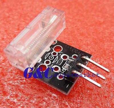 2pcs Knock Sensor Module With Led Ky-031 For Arduino Pic Avr Raspberry Pi