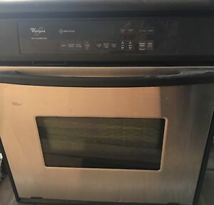 "Whirlpool 27"" Stainless Steel Wall Oven"
