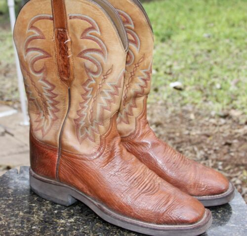 Lucchese, Cy1304, Mens, Barnwood, Smooth, Ostrich, Leather, Western, Cowboy, Boots,