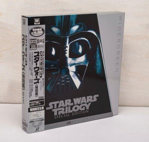 Laserdisc Star Wars Trilogy Special Edition Japan Obi PILF-2434 GEORGE LUCUS