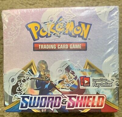 Pokemon Sword and Shield Booster Box Sealed 36 ct