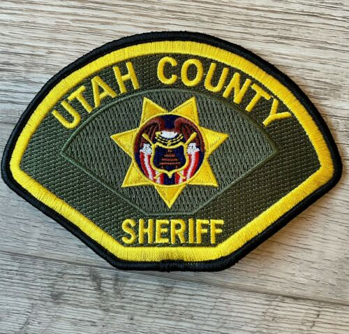 Utah County Sheriff Patch - Police Shoulder Patch