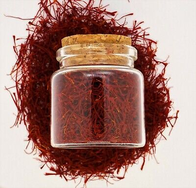 3g - 0.11OZ Premium Organic Saffron-Grade A+ Finest Red Threads Non-GMO Imported