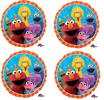 aße Elmo & Freunde Geburtstag Folie Mylar Luftballon Party (Sesamstraße 2. Geburtstag)