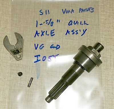 Emco Maximat Super 11 Lathe Gearhead Parts Quill Axle Assembly I05t