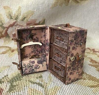 Heidi Ott #HOXZ008 Dollhouse Miniature Luggage Trunk