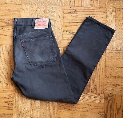 Levi's Vintage Clothing Big E Red Tab 519 Bedford Pants Jeans 34 x 34 Dark Brown