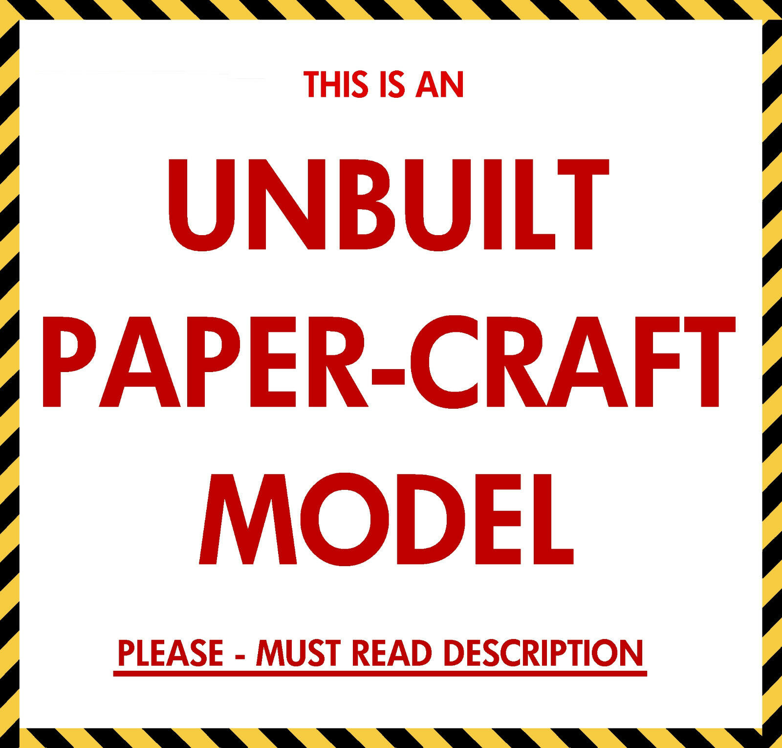 Launch Umbilical Tower (LUT) Craft Model for 1:96 Revell Saturn V - MUST READ