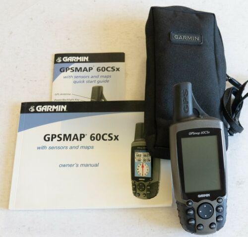 Garmin GPSMap 60CSx 128MB micro SD Case EXCELLENT