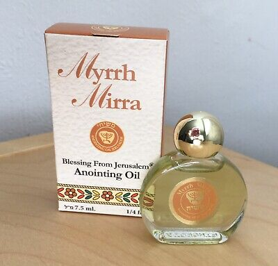 Myrrh Anointing Oil 7.5ml From Holy Land of The Bible,Galilee,Jerusalem