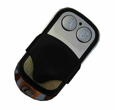 433,92Mhz Funk Sender Handsender Pairing 2 Kanal Knopf Fernbedienung Garagentor