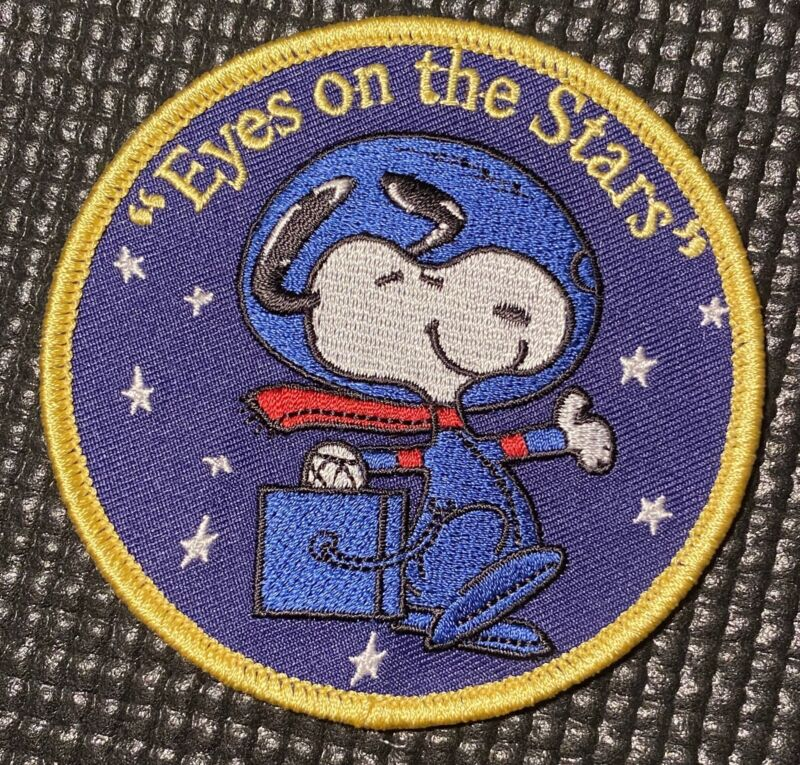 """NASA SPACE PATCH - EYES ON THE STARS- IN PARTNERSHIP WITH NASA -3.5"""""""