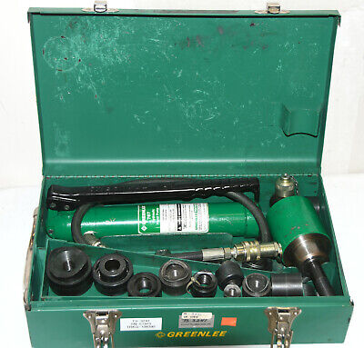 Greenlee 767 Hydraulic Knockout Punch Set