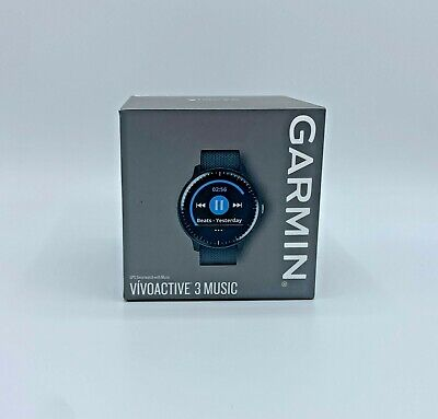 Garmin Vivoactive 3 Music GPS Smartwatch Black