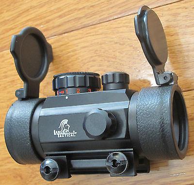 Metal 1X30 Advanced Combat Optic Gun sight Mounting on 20mm Picanny/Weaver Rail (Combat Optic)