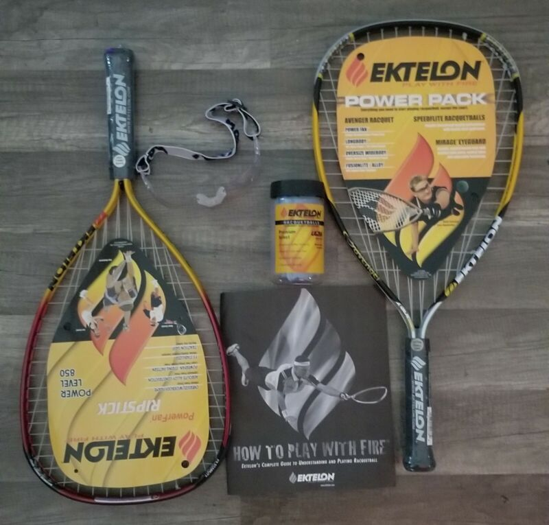 Ektelon Racquetball Starter Kit, 2003