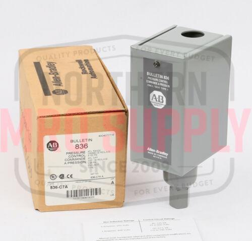 Allen-Bradley 836-C7A Pressure Switch, 4-150PSI