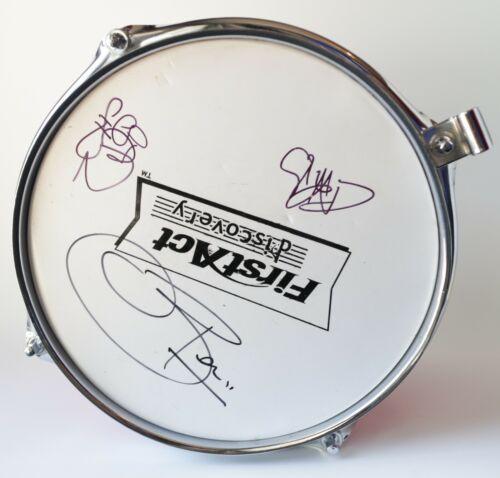 Silverchair Signed Autographed Auto Drum Daniel Johns Ben Gillies Chris Joannou