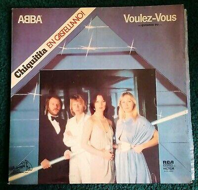 ABBA - Voulez-Vous Spanish Argentina RCA Victor AVSL-4680 Chiquitita (Disco pop)