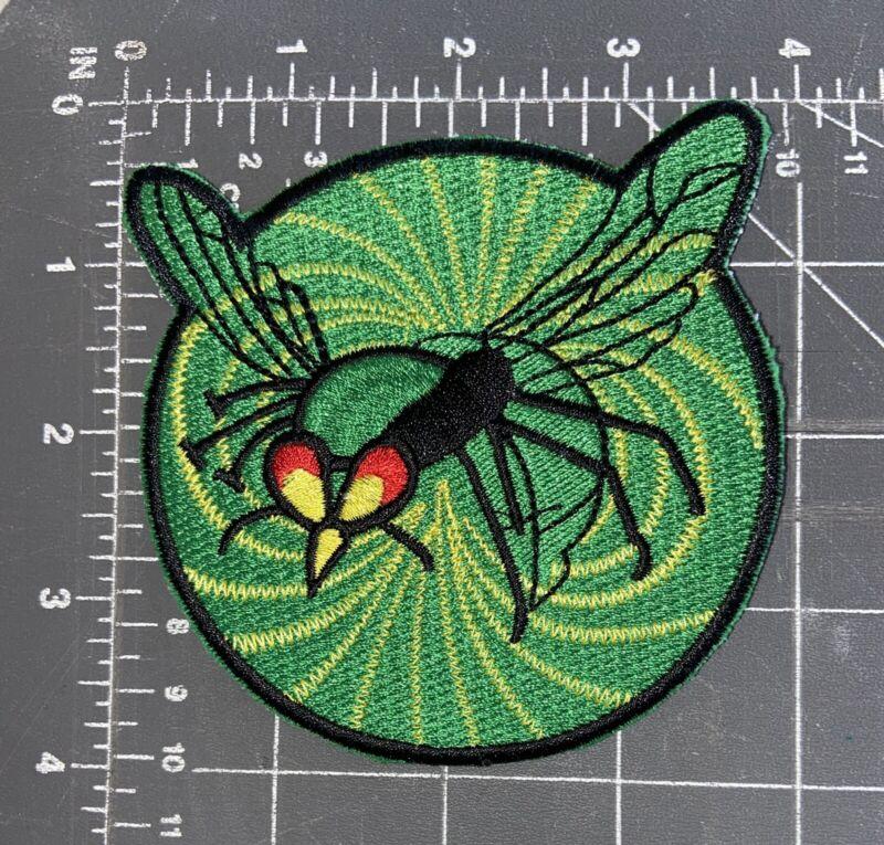 Vintage The Green Hornet Patch Britt Reid Kato Bruce Lee Superhero Comics Wasp