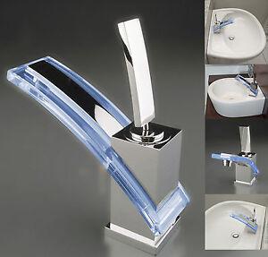 W47 lavabo ba o grifo cascada grifo cocina dise o grifer a - Grifos de lavabo de diseno ...