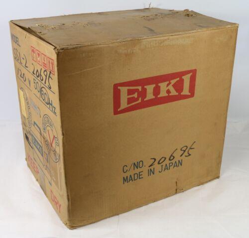 Vintage Eiki SSL-2 Super SLim 16 mm Projector Complete Original - READ BELOW!