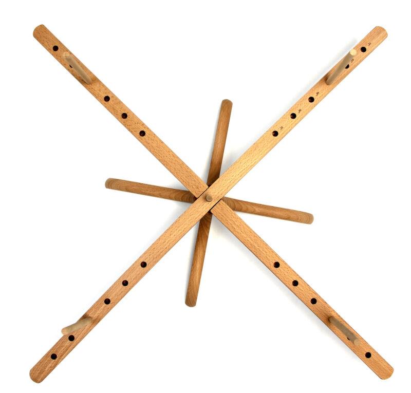 Stanwood Needlecraft: Tabletop Amish Style Wooden Yarn Swift Winder