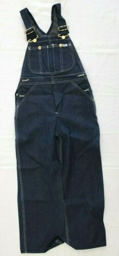 Vtg 1970s Lee for Kids Overalls Size 7 deadstock nos cotton jeans pants