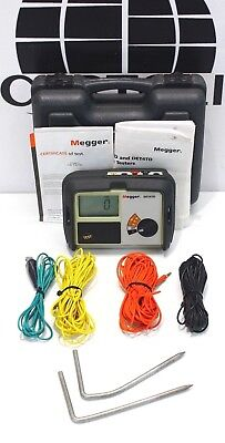 Megger Det4td Earth Ground Electrode Tester